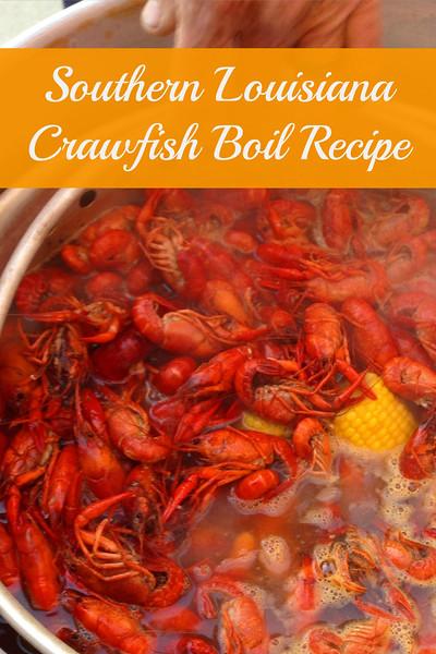 A Southern Louisiana Crawfish Boil Recipe