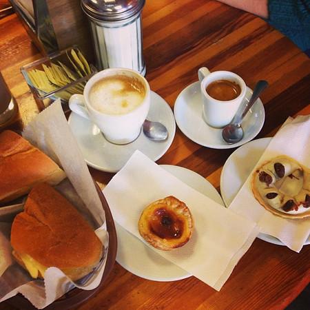 Cafe Docanto, an Azorean Portuguese cafe in San Jose's Little Portugal neighborhood.