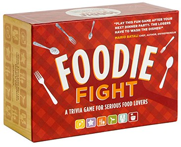 Foodie Fight trivia game. 50 Gift Ideas for Foodies