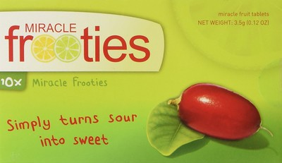 Miracle Fruit Tablets. Food Gift Ideas