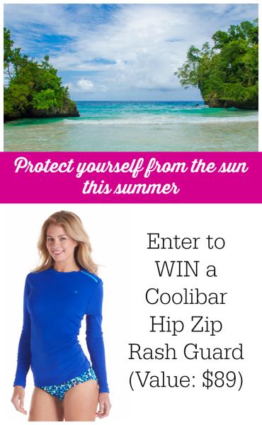 Summer Giveaway: Enter to Win a Coolibar Hip Zip Rash Guard