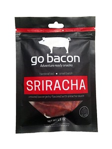 Sriracha Bacon Jerky. Food Gift Ideas