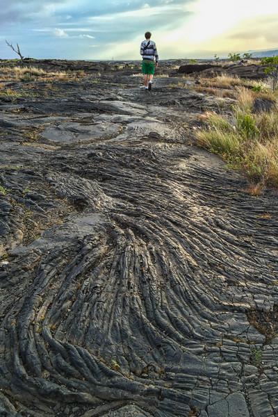 Lava rock at Hawaii Volcanoes National Park