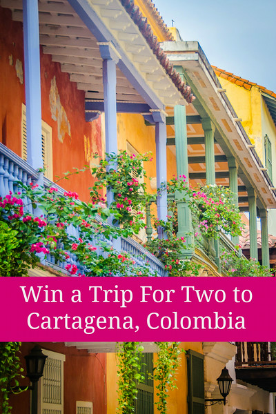 WIN a trip for two to Cartagena, Colombia! [Ends September 4, 2014]