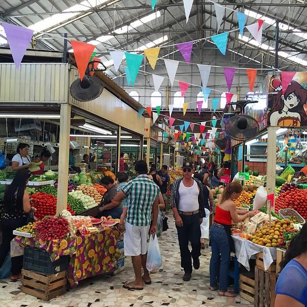 Mazatlan's central market, Mercado Pino Suarez