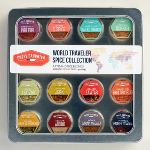World Traveler Spice Collection. Gifts For Foodies