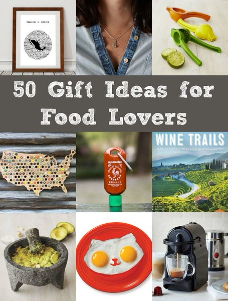50 Gift Ideas for Food Lovers